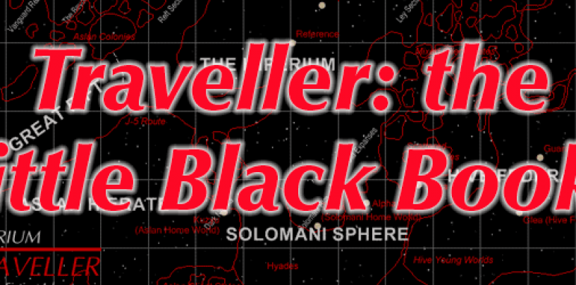 Traveller LBBs – the classic SFRPG rulebooks