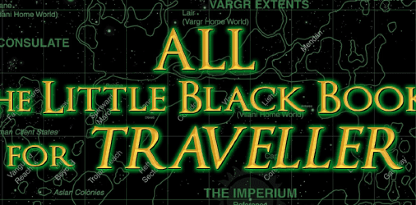 ALL 50+ Traveller Little Black Books in TWO offers