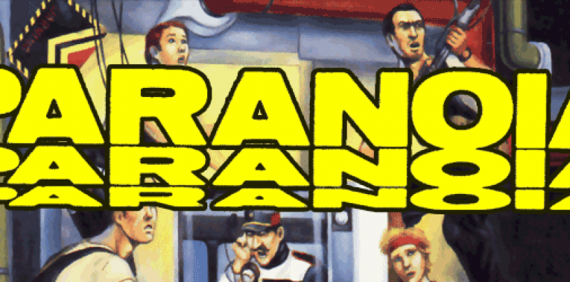 PARANOIA Classic – the original West End line in NEW scans