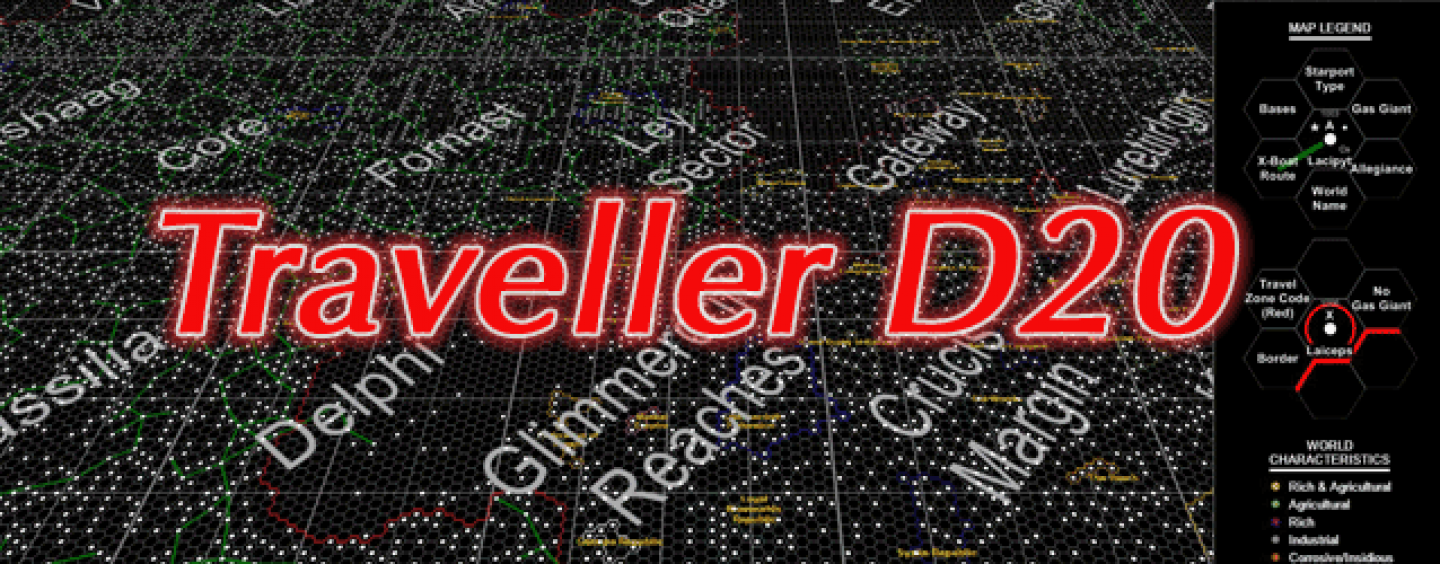 Traveller20 – D20-based Traveller SFRPG adventure
