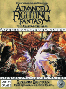 Advanced Fighting Fantasy RPG cover