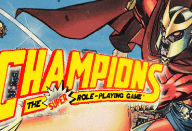 Champions 4E – ALL of it! – through Mon 01 May