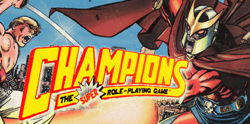 Champions 4E – ALL of it!