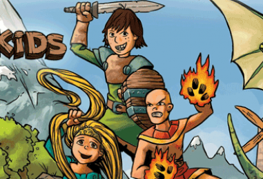 Hero Kids – fast and fun roleplaying for kids 4-10 – through Tues 01 May