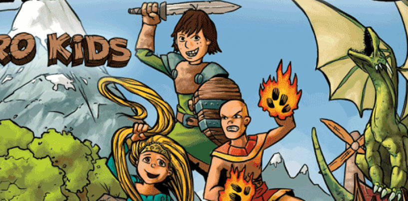 Hero Kids – fast and fun roleplaying for kids 4-10