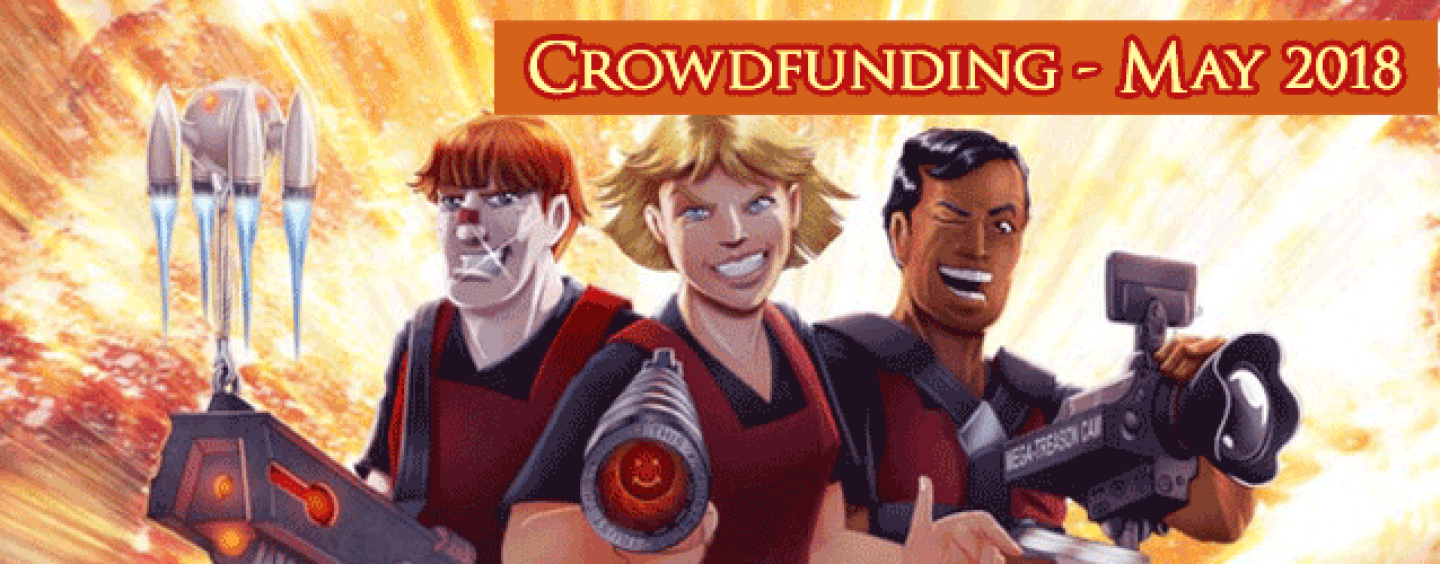 Crowdfunding by past Bundle contributors – May 2018