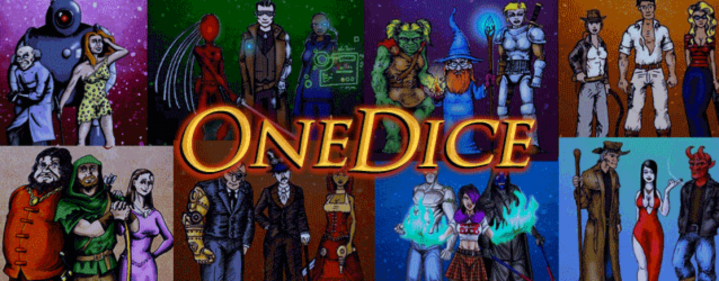 OneDice – fast universal roleplay