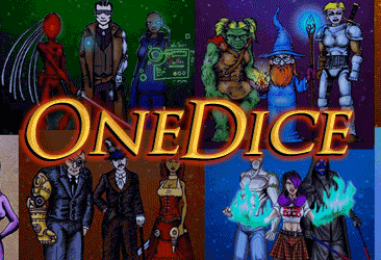 OneDice – fast universal roleplay – through Mon 03 Sept