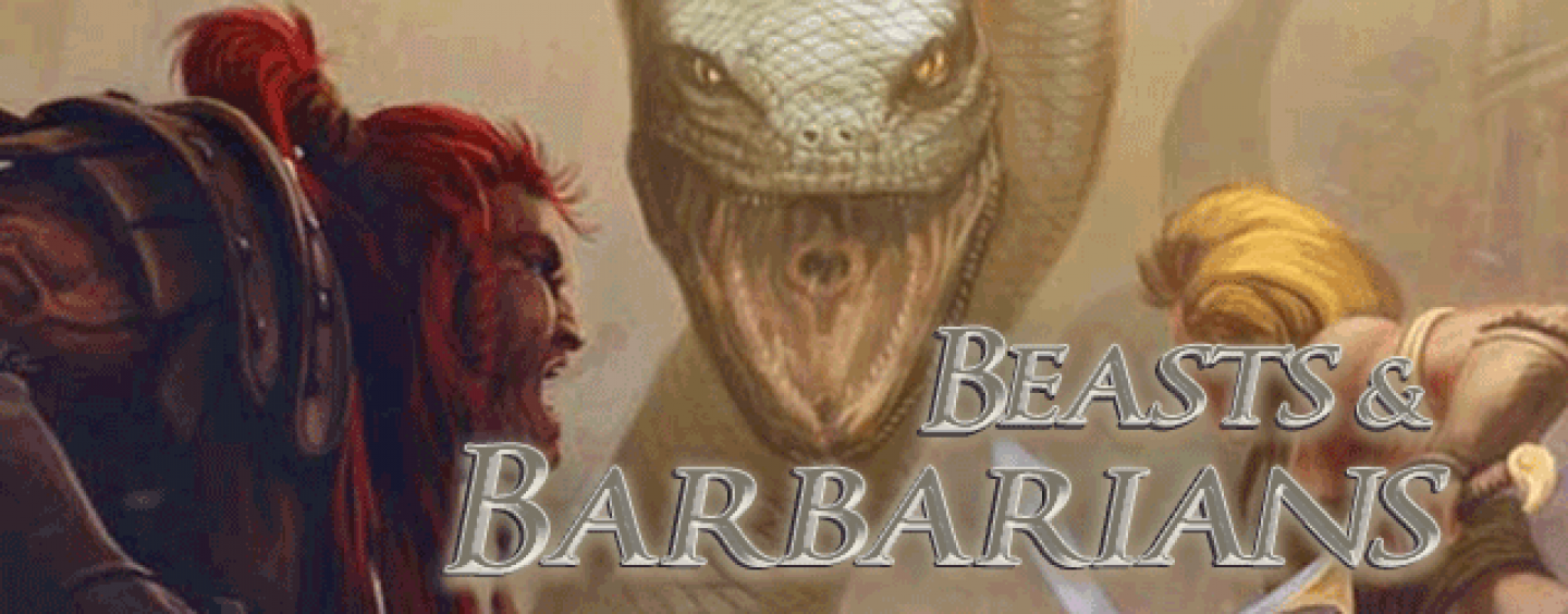 Beasts & Barbarians – Savage Worlds S&S revived