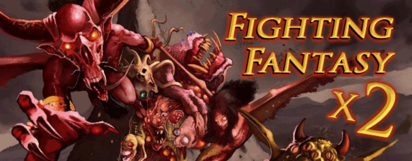 Advanced Fighting Fantasy x2