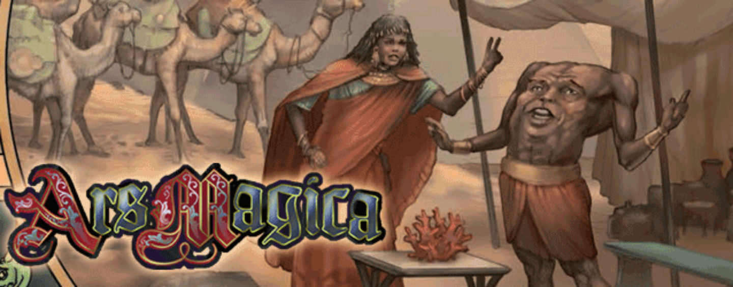 Ars Magica 5 + World of Magic