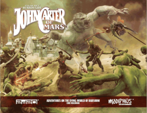 John Carter of Mars roleplaying game from Modiphius Entertainment