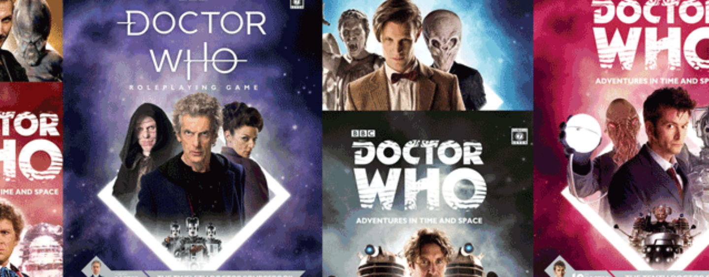 Doctor Who RPG x2